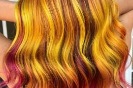 Hottest Firey Hair Color Shades for Autumn Season 2018