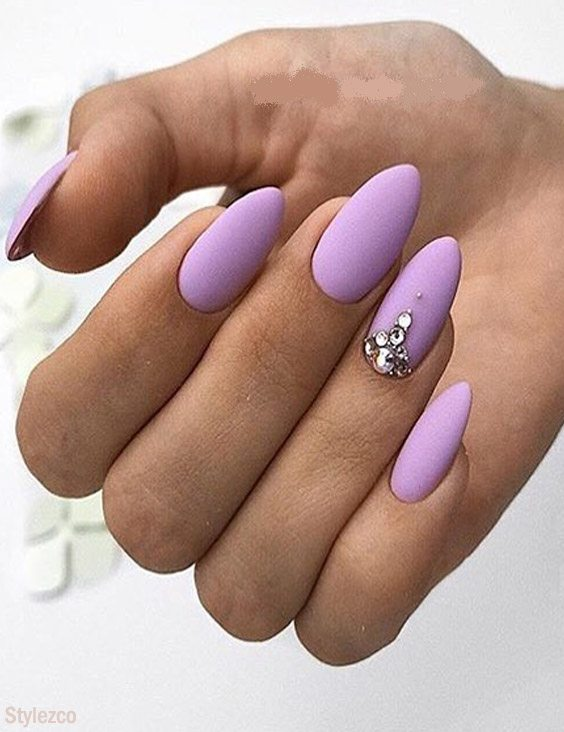 Coolest Purple Nail Art Designs & Styles for You