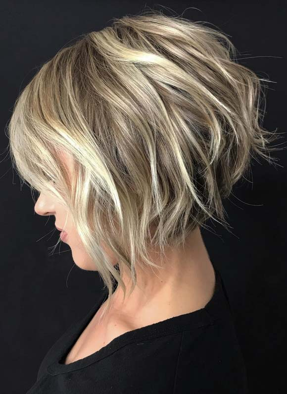 Tousled Textured Short Haircuts for 2018