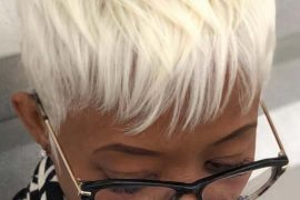 Platinum Blonde Pixie Haircuts for 2019