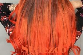 Unique Atomic Orange Hair Colors Ideas for Blonde Girls In 2019