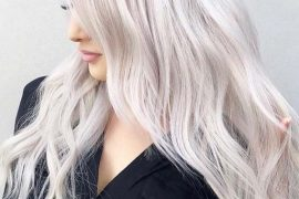 Absolutely Amazing Platinum Blonde Hair Color Styles for 2019