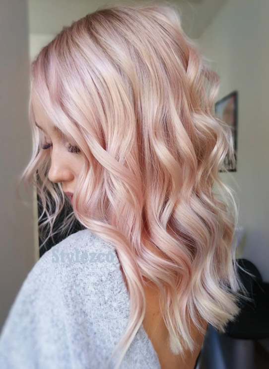 Awesome Pastel Pink Hair Color Ideas & Images for Girls
