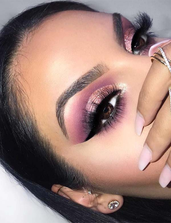 Burgundy Extended Palette Eye Makup Ideas for 2019