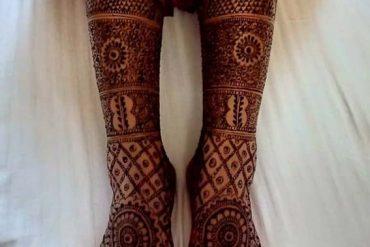 Gorgeous Bridal Mehndi Designs to Follow Nowadays