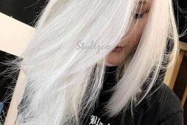 Hottest Pure White Hair Color Ideas & Trends for 2019