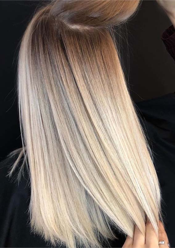 Amazing Blended Balayage Shadowroot Hair Styles for 2019