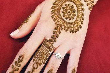 Simple & Cute Mehndi Designs for Wedding Day