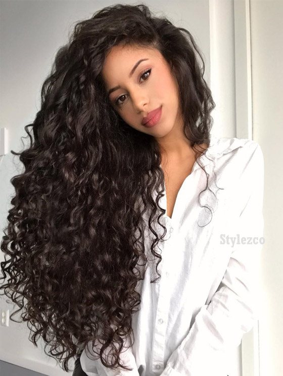 Stunning Long Curly Hairstyle Trends For 2019 Stylezco