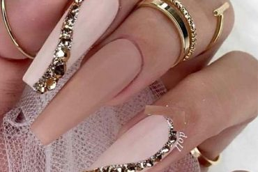 Wonderful Ideas Of Long Nails In New Year