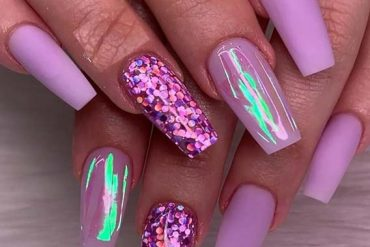 Amazing Purple Nail Arts & Designs for 2019