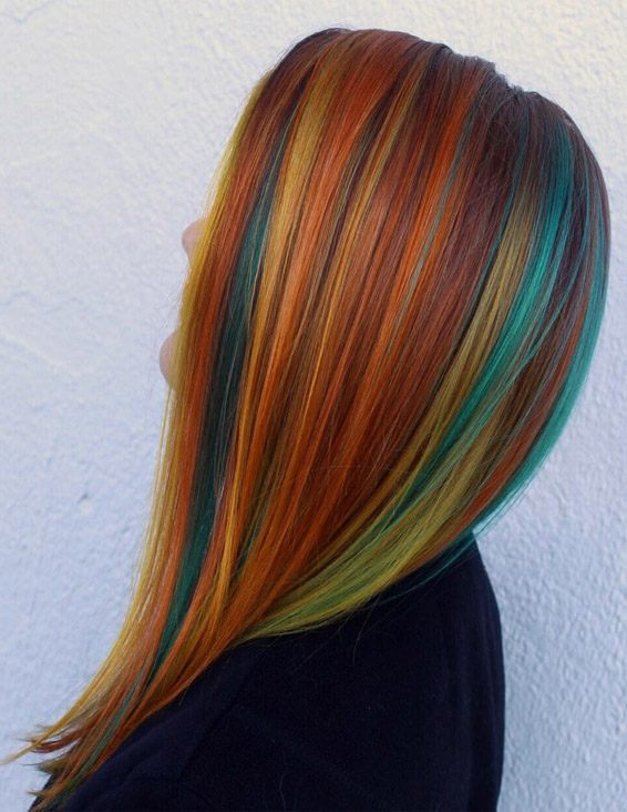 Craziest Colorful Hair Color Styles You can Wear Now