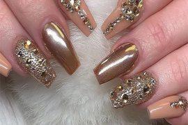 Gorgeous Nail Art Designs for Bridal Girls & Women