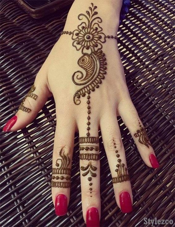 Simple \u0026 Easy Henna Mehndi Designs for Superior Girls
