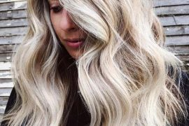 Textured Blonde Long Hairstyles in 2019