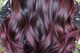 Awesome Plum Hair Color Ideas for 2019