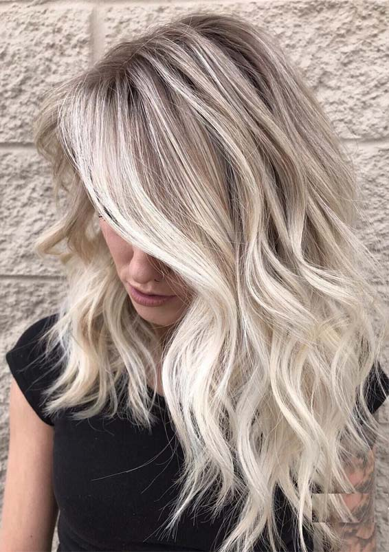 Blonde Balayage Highlights to Wear Nowadays