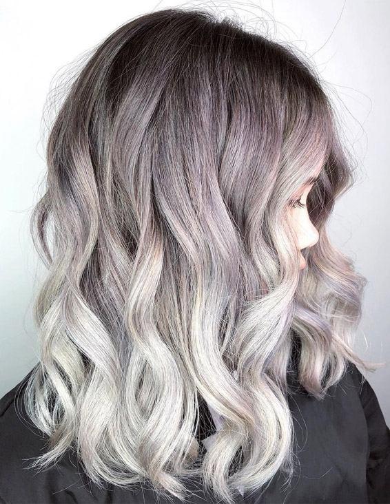 Gorgeous Hair Color Highlights for Medium to Long Hair