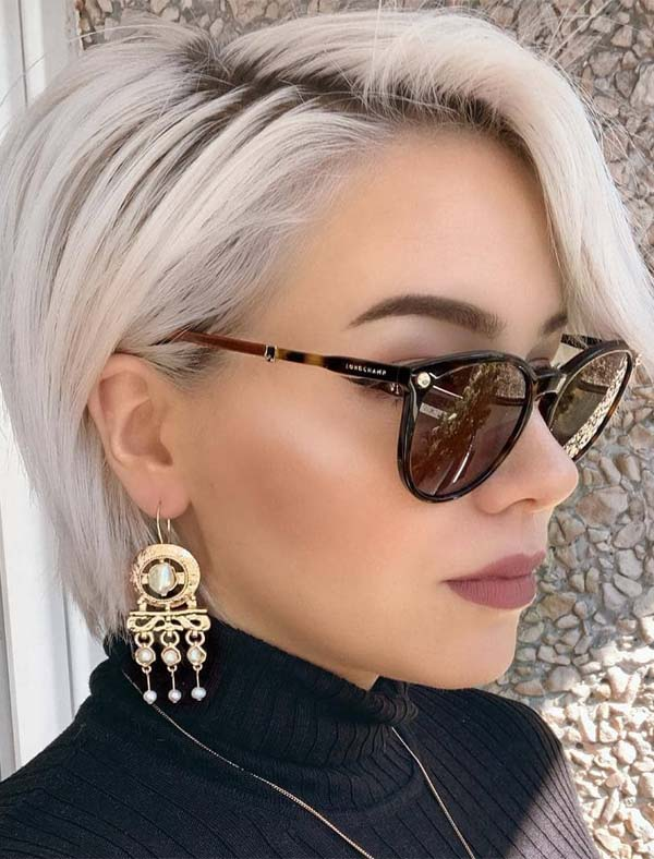 Best Short Haircuts With Glasses You Must Wear In 2019