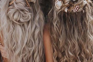 Wedding bridal hairstyles for long hair in 2019