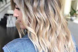 Beachy Balayage Hairstyles & Hair Color Shades for 2019
