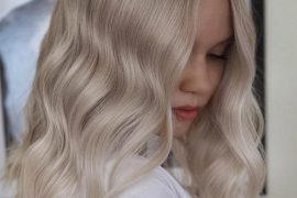 Platinum Blonde Hair Ideas for Medium Hair