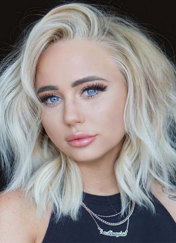 Stunning Butter Blond Hair colors for Short haircuts for 2019