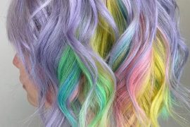 Lovely & Colorful Hair Color Ideas for Short Hair