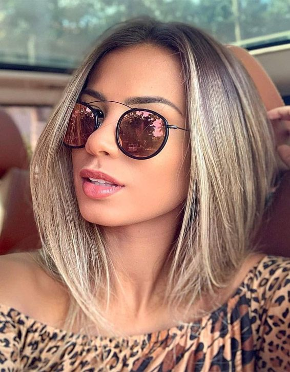 Medium Length Haircuts for Celebrity Girls In 2019