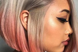 Modern Silver Melt Bob Haircuts for 2019