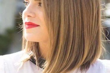 Straight Medium Length Haircuts in 2019
