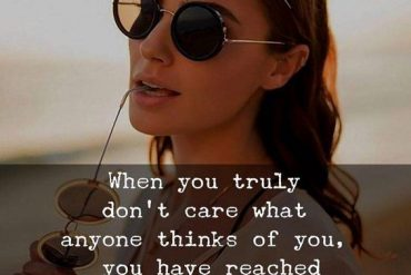 When you Truly don't Care - Care Quotes for Her