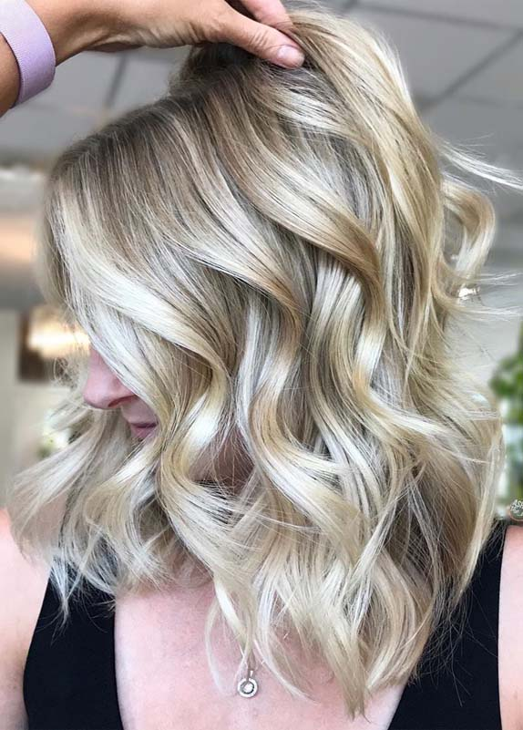 Best Shades Of Balayage Blonde Hair Colors for 2019