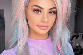 Elegant & Colorful Hair Highlights for Celebrity Girls