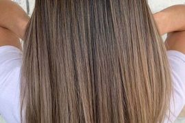 Natural babylights balayage hair colors highlights