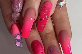 Neon Berry Pink Nail Art Styles for Everyone