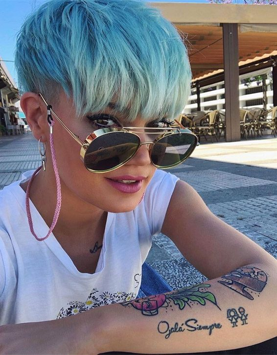 Stylish Blue Short Hair Trends to Try Now