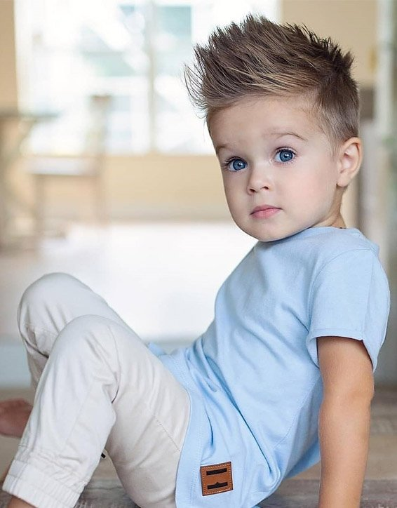 Edgy Look of Kids Boys Hairstyles for the year of 2019