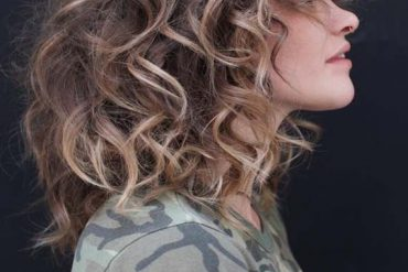 Modern Looking Soft Short Curly Haircuts in year 2019