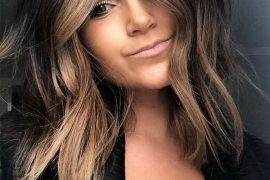 Face Framing Long Bob Hairstyles for Women in 2019