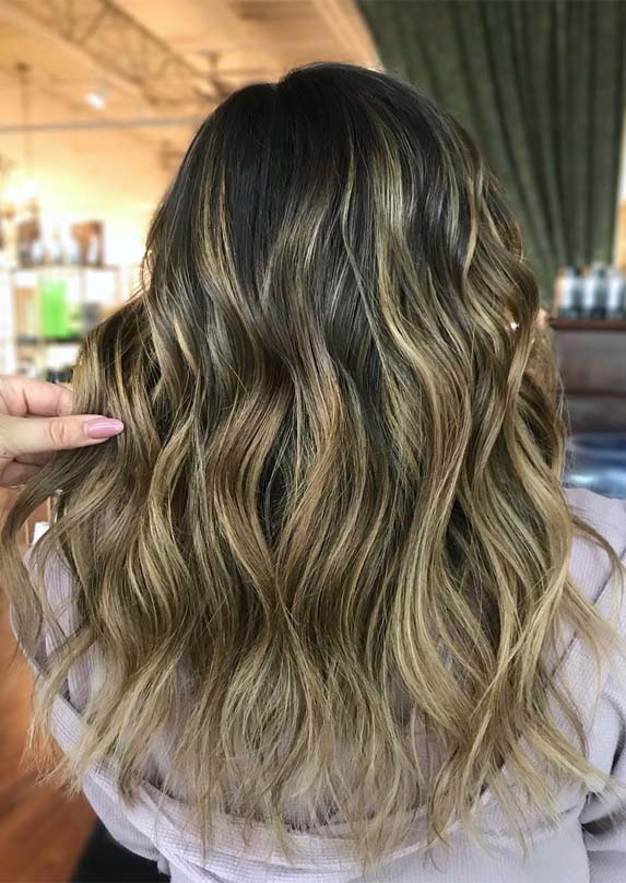 Favorite Shades Of Brunette Balayage Hair Colors in 2019