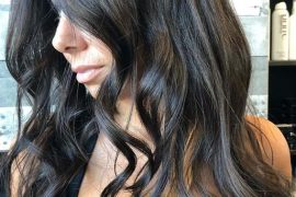 Gorgeous Long Black Hairstyles for 2019