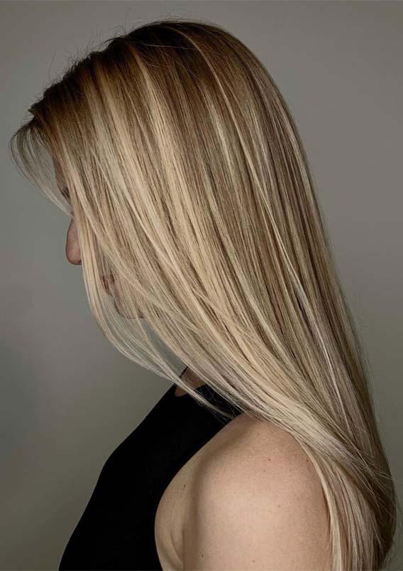 Gorgeous Long Sleek Balayage Hairstyles for 2019