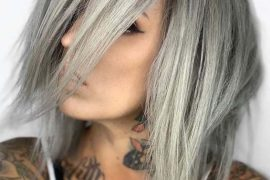 Perfect Silver Hair Highlights