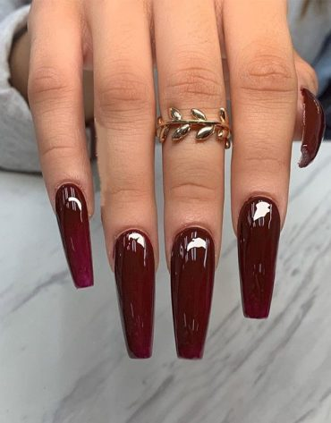 All time Best Red Nail Style & Look for 2019