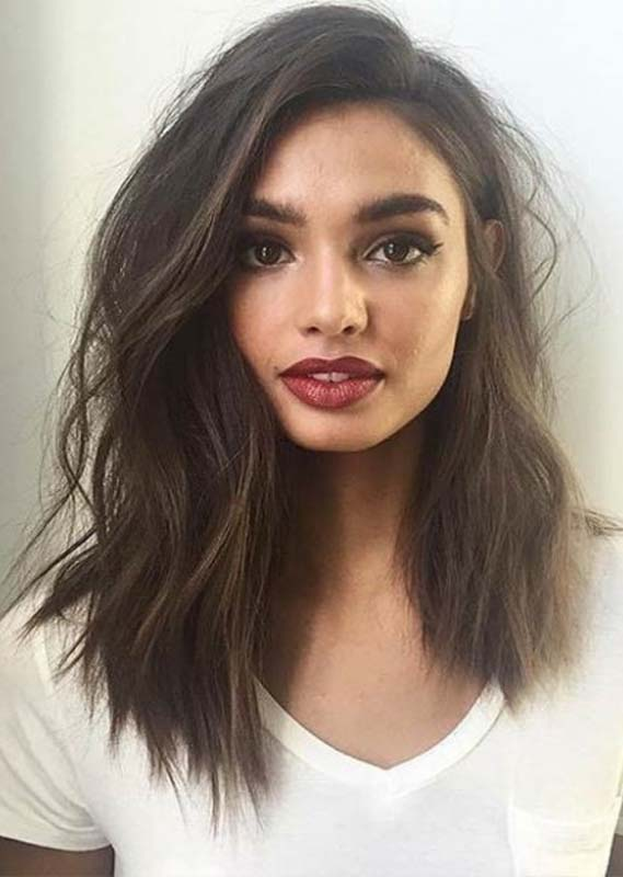 Awesome Shoulder Length Haircuts for Women in year 2019