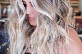 Fresh Blonde Hair Colors Contrasts for Women 2019
