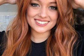 Ginger Red Hair Colors and Hairstyles Ideas for Women 2019