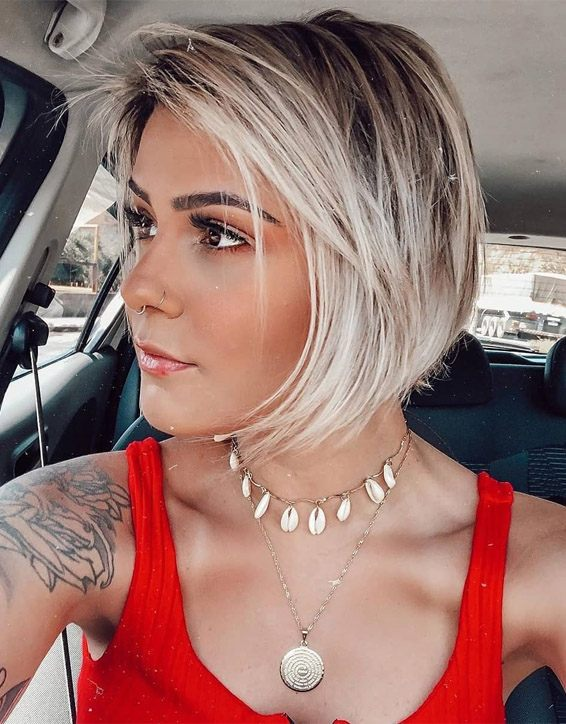 Good Looking Short Hair for Oval Faces In 2019