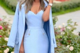 Inspiring Dresses Ideas & Fashion Look for 2019